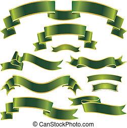 gyeplő, állhatatos, zöld