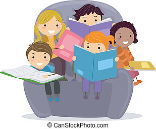 gyerekek, előjegyez, felolvasás