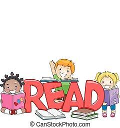 gyerekek, felolvasás