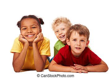 gyerekek, három