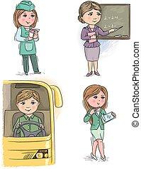 gyerekek, szellemi foglalkozás, 6