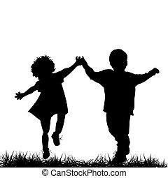 gyermekek út