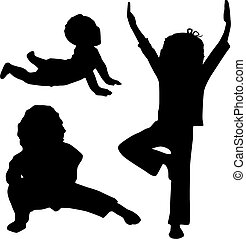 gyermekek, jóga