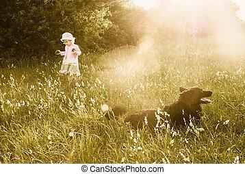 gyermekkor, álmodik