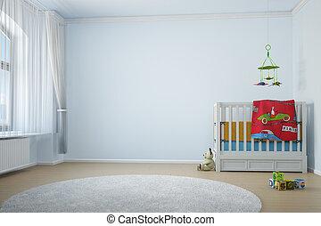 gyermekszoba, crip, szoba
