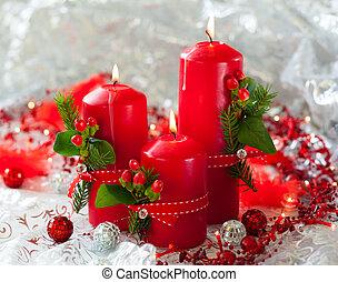 gyertya, karácsony