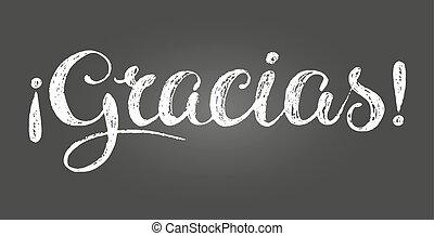 hálát ad, felirat, kréta, felírás, ön, spanish.