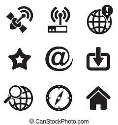 háló, computer icons