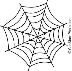 háló, művészet, pók
