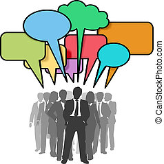 hálózat, ügy emberek, panama, színes, beszél