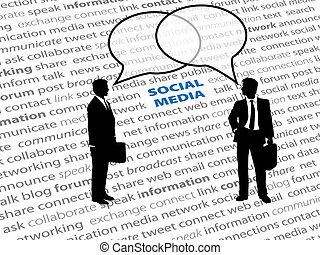 hálózat, ügy emberek, szöveg, társadalmi, panama, beszél