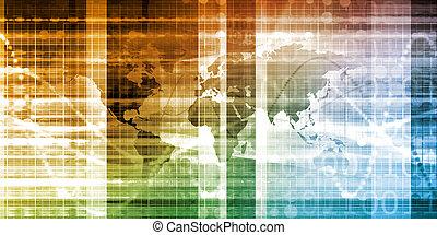 hálózat, globális