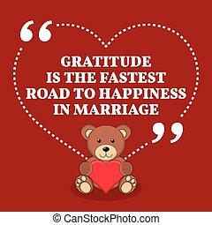 hála, út, szeret, quote., marriage., házasság, gyorsan, belélegzési, boldogság