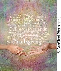 hálaadás, együtt, ünnepel