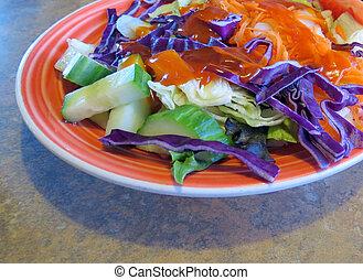 hányódás saláta