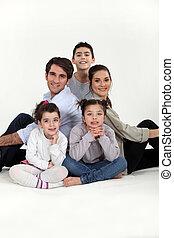 három, család, gyerekek