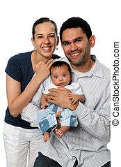 három, család