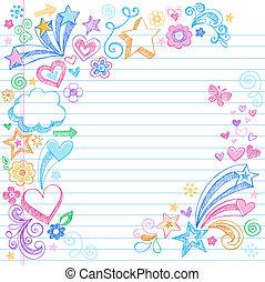 hát, sketchy, izbogis, doodles