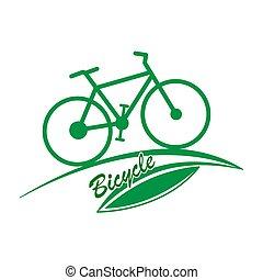 háttér, bicikli, mód, fehér, egyszerű, ikon, elszigetelt, lakás