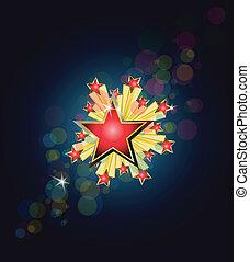háttér, csillag