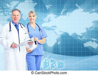 háttér., egészségügyi ellátás