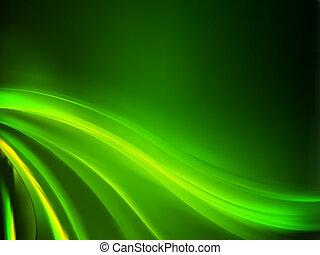 háttér., elvont, zöld, eps, 8