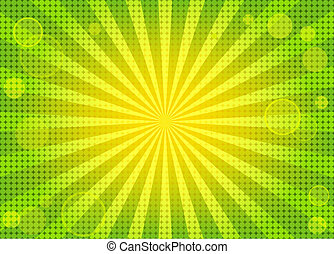 háttér, elvont, zöld, fényes, nyugat