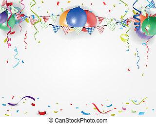háttér, fesztivál, ünnep
