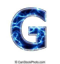 háttér, g betű, -, levél, fehér, 3, elektromos
