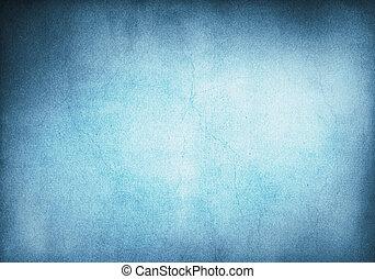 háttér, grunge, kék