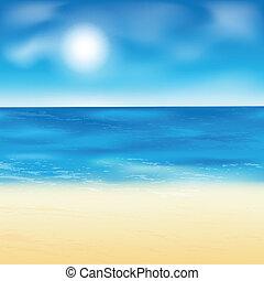 háttér., homok tengerpart