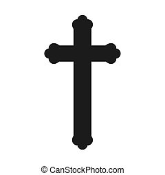 háttér, keresztény, kereszt, fehér