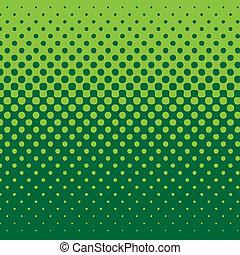 háttér, lineáris, halftone, zöld hanglejtés