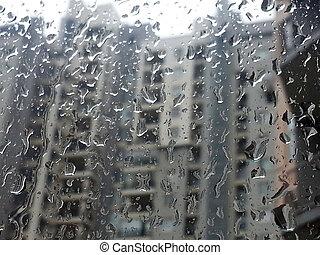 háttér., savanyúcukorka, eső, pohár