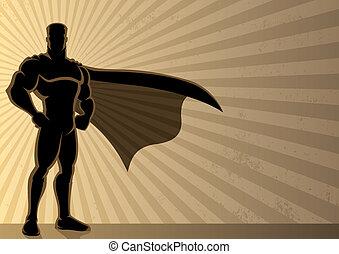 háttér, superhero