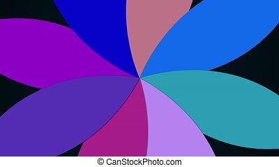 háttér, színes, pattern., számítógép, petals., kivált, virág, 3, modern, vakolás, többszínű
