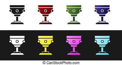 háttér., vektor, állhatatos, fekete, easter., elszigetelt, keresztény, boldog, icon., fehér, kereszténység, ábra, ikon, kehely