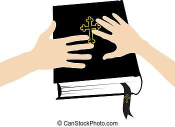 házastársi, szent bible, eskü