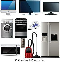 háztartás, alapismeretek, elektronikus