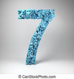 hét, szám
