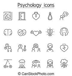 híg, mód, ikon, állhatatos, egyenes, lélektan