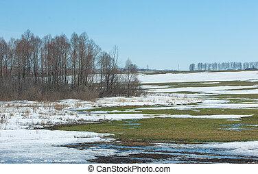 hó, eredet, tél, eltart