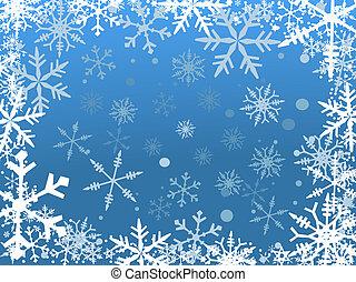 hó, határ
