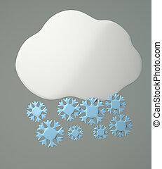 hópihe, felhő
