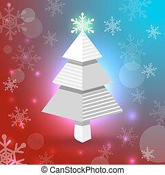 hópihe, karácsonyfa