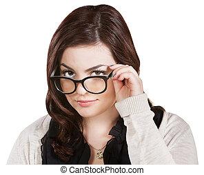 hölgy, hatalom szemüveg