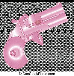 hölgyek, pisztoly