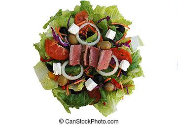 hússzelet, saláta