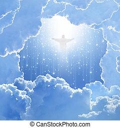 húsvét, ég, krisztus