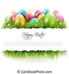 húsvét, háttér, copyspace